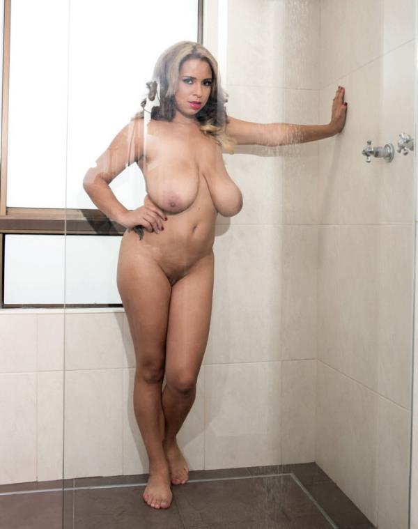 ScoreHD/PornMegaLoad: Shara Lopez - Boobs On Glass (FullHD) - 2020