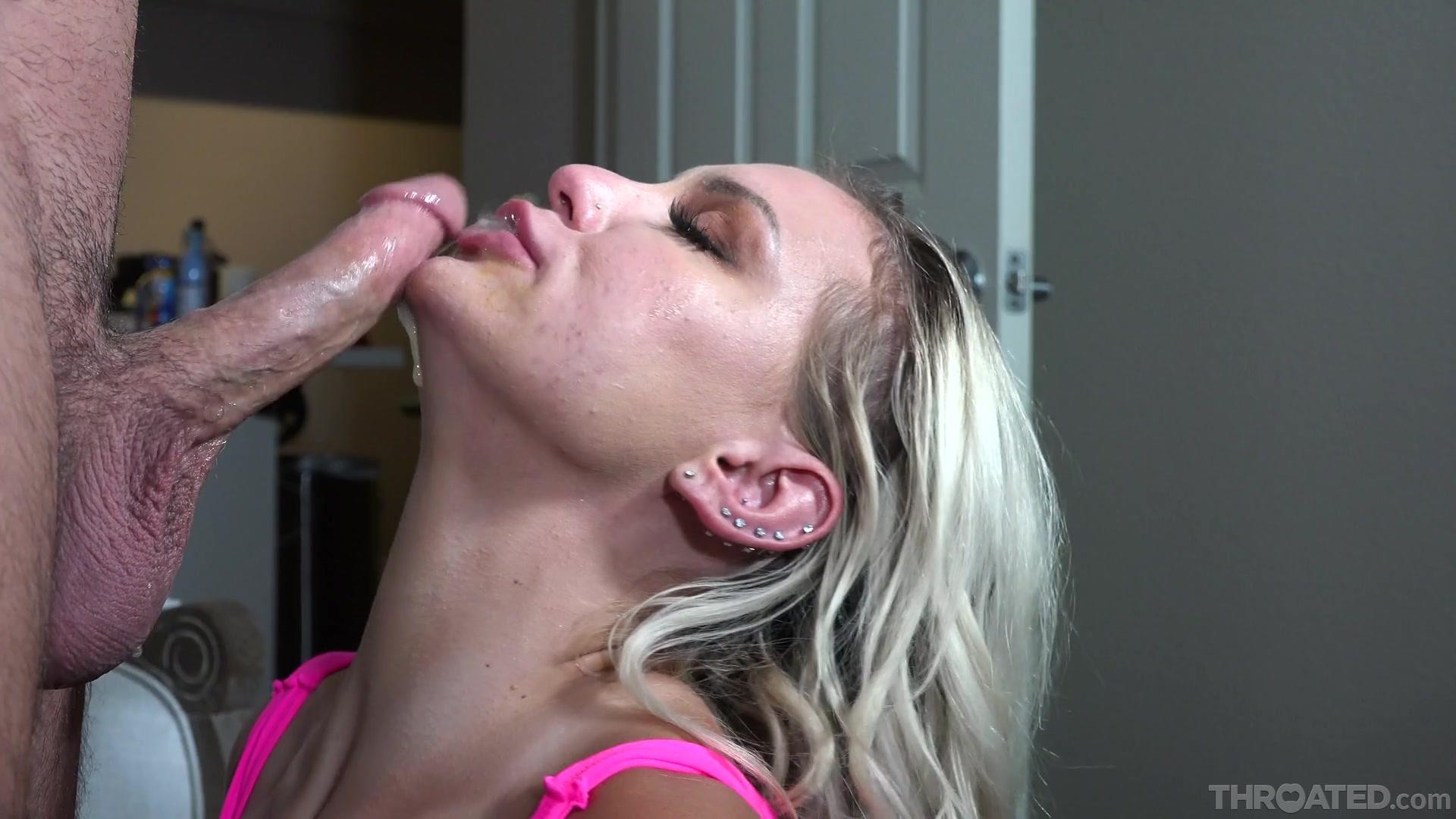 Throated – Kenzie Taylor Homemade