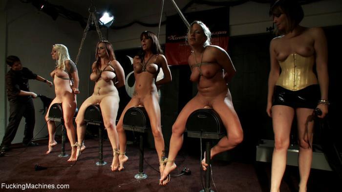 Dia, Gia, Lorelei, Bella - Machine Fuck (2020) [HD/720p/MP4/427 MB] by Utrodobroe